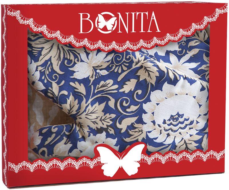Подарочный набор для кухни Bonita Белые Росы, 3 предмета11010817030100% хлопокРазмер: полотенце 35*61, прихватка 18*18, рукавица 18*27
