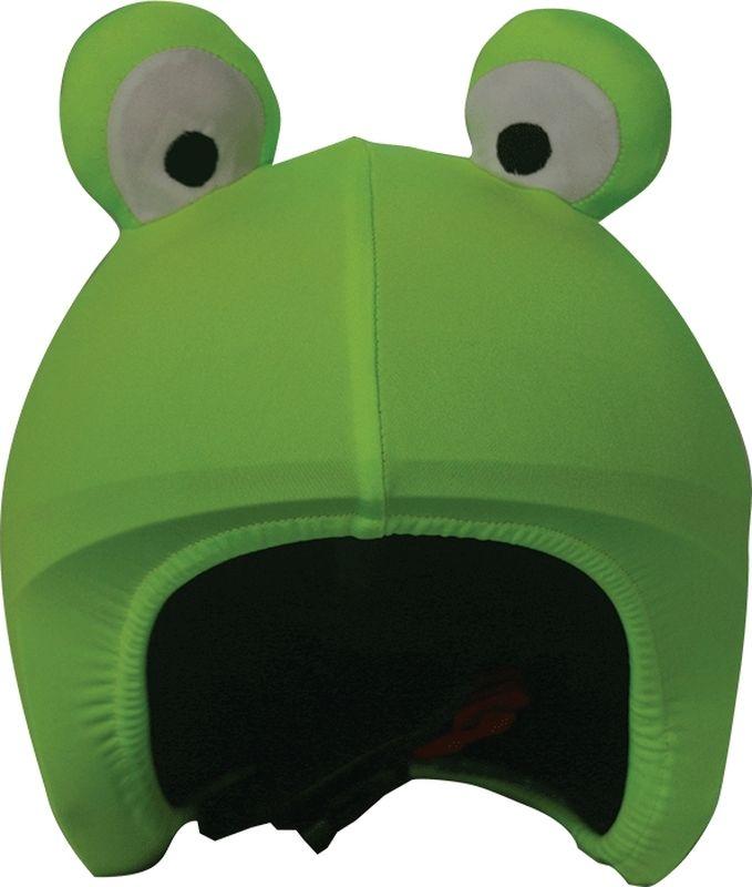 Нашлемник CoolCasc Rana. Лягушка, цвет: зеленыйУТ-00007726Стильный нашлемник CoolCasc для спортивного шлема предназначен для занятий спортом (сноуборд, горные лыжи, велосипед) и развлечений. Легко надевается, защищает шлем от царапин. Размер - универсальный.Нашлемник CoolCasc поможет подчеркнуть вашу индивидуальность и выделит вас среди окружающих. Состав: 83% нейлон, 17% спандекс.