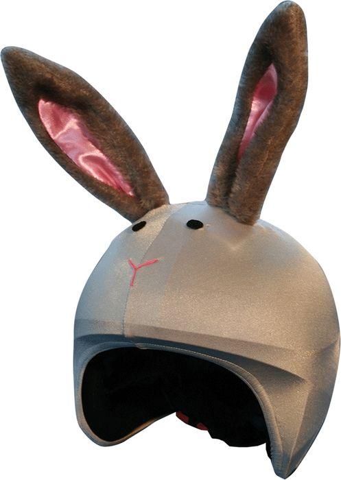 Нашлемник CoolCasc Bunny. Кролик, цвет: серыйУТ-00007727Стильный нашлемник CoolCasc для спортивного шлема предназначен для занятий спортом (сноуборд, горные лыжи, велосипед) и развлечений. Легко надевается, защищает шлем от царапин. Размер - универсальный.Нашлемник CoolCasc поможет подчеркнуть вашу индивидуальность и выделит вас среди окружающих.Состав: 83% нейлон, 17% спандекс.