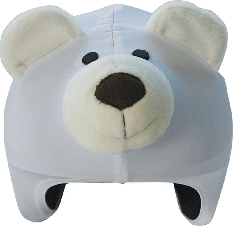 Нашлемник CoolCasc  Polar Bear. Белый медведь , цвет: белый, серый - Аксессуары и защита
