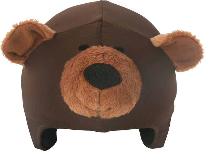 Нашлемник CoolCasc Teddy Bear. Медведь, цвет: коричневыйУТ-00007729Стильный нашлемник CoolCasc для спортивного шлема предназначен для занятий спортом (сноуборд, горные лыжи, велосипед) иразвлечений. Легко надевается, защищает шлем от царапин. Размер - универсальный. Нашлемник CoolCasc поможет подчеркнуть вашу индивидуальность и выделит вас среди окружающих.Состав: 83% нейлон, 17% спандекс.Что взять с собой на горнолыжную прогулку: рассказывают эксперты. Статья OZON Гид