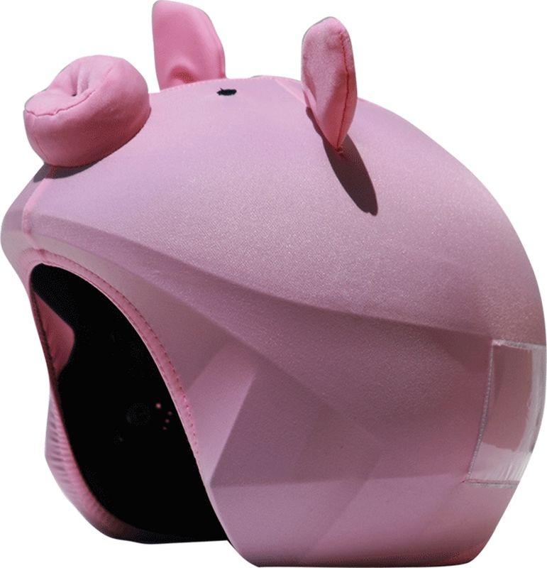 Нашлемник CoolCasc Pig. Поросенок, цвет: розовыйУТ-00007731Стильный нашлемник CoolCasc для спортивного шлема предназначен для занятий спортом (сноуборд, горные лыжи, велосипед) иразвлечений. Легко надевается, защищает шлем от царапин. Размер - универсальный. Нашлемник CoolCasc поможет подчеркнуть вашу индивидуальность и выделит вас среди окружающих.Состав: 83% нейлон, 17% спандекс.Что взять с собой на горнолыжную прогулку: рассказывают эксперты. Статья OZON Гид