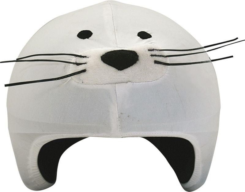 Нашлемник CoolCasc  Seal. Тюлень , цвет: серый - Аксессуары и защита