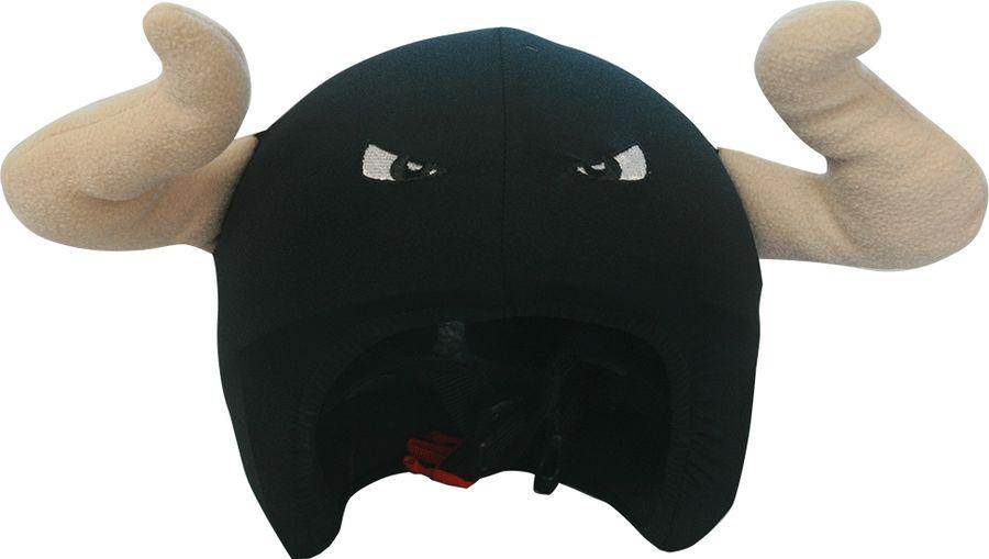 Нашлемник CoolCasc Spanish. Bull Бык, цвет: черный, серыйУТ-00007733Стильный нашлемник CoolCasc для спортивного шлема предназначен для занятий спортом (сноуборд, горные лыжи, велосипед) иразвлечений. Легко надевается, защищает шлем от царапин. Размер - универсальный. Нашлемник CoolCasc поможет подчеркнуть вашу индивидуальность и выделит вас среди окружающих.Состав: 83% нейлон, 17% спандекс.Что взять с собой на горнолыжную прогулку: рассказывают эксперты. Статья OZON Гид