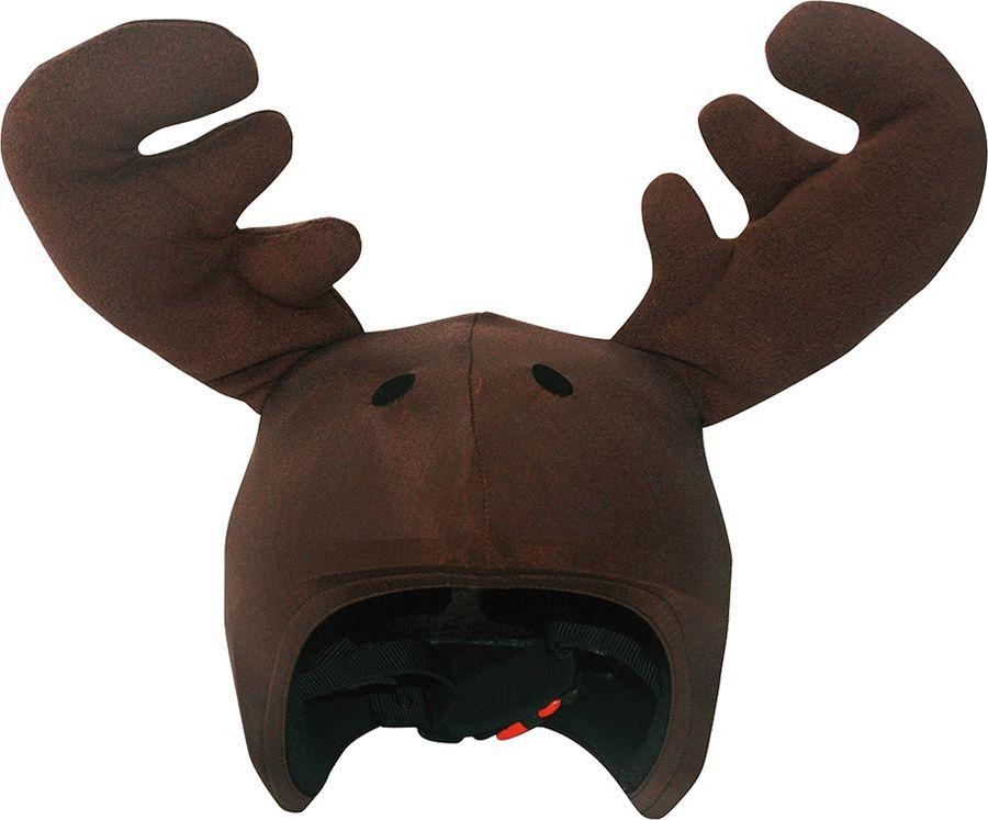 Нашлемник CoolCasc Moose. Лось, цвет: коричневыйУТ-00007734Стильный нашлемник CoolCasc для спортивного шлема предназначен для занятий спортом (сноуборд, горные лыжи, велосипед) и развлечений. Легко надевается, защищает шлем от царапин. Размер - универсальный.Нашлемник CoolCasc поможет подчеркнуть вашу индивидуальность и выделит вас среди окружающих. Состав: 83% нейлон, 17% спандекс.