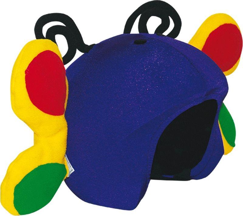Нашлемник CoolCasc  Butterfly. Бабочка , цвет: синий, желтый - Аксессуары и защита