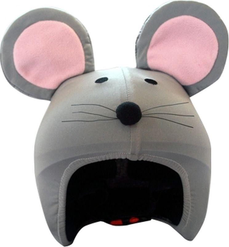 Нашлемник CoolCasc Mouse. Мышь, цвет: серый, розовыйУТ-00007740Стильный нашлемник CoolCasc для спортивного шлема предназначен для занятий спортом (сноуборд, горные лыжи, велосипед) и развлечений. Легко надевается, защищает шлем от царапин. Размер - универсальный.Нашлемник CoolCasc поможет подчеркнуть вашу индивидуальность и выделит вас среди окружающих. Состав: 83% нейлон, 17% спандекс.