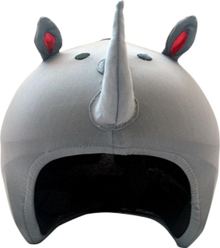 Нашлемник CoolCasc Rhino. Носорог, цвет: серыйУТ-00007742Стильный нашлемник CoolCasc для спортивного шлема предназначен для занятий спортом (сноуборд, горные лыжи, велосипед) и развлечений. Легко надевается, защищает шлем от царапин. Размер - универсальный.Нашлемник CoolCasc поможет подчеркнуть вашу индивидуальность и выделит вас среди окружающих. Состав: 83% нейлон, 17% спандекс.