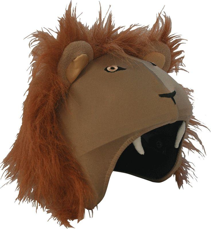 Нашлемник CoolCasc  Lion. Лев , цвет: бежевый, рыжий - Аксессуары и защита