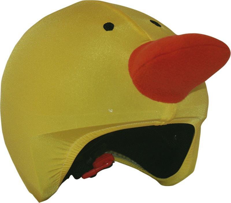 Нашлемник CoolCasc Duck. Утенок, цвет: желтыйУТ-00007748Стильный нашлемник CoolCasc для спортивного шлема предназначен для занятий спортом (сноуборд, горные лыжи, велосипед) и развлечений. Легко надевается, защищает шлем от царапин. Размер - универсальный.Нашлемник CoolCasc поможет подчеркнуть вашу индивидуальность и выделит вас среди окружающих.Состав: 83% нейлон, 17% спандекс.