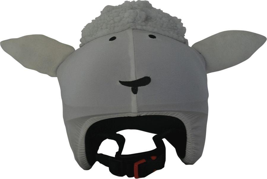 Нашлемник CoolCasc White sheep. Овечка, цвет: белый