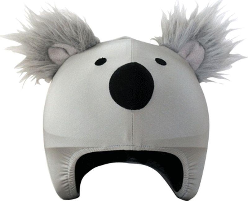 Нашлемник CoolCasc Koala. Коала, цвет: серыйУТ-00007755Стильный нашлемник CoolCasc для спортивного шлема предназначен для занятий спортом (сноуборд, горные лыжи, велосипед) и развлечений. Легко надевается, защищает шлем от царапин. Размер - универсальный.Нашлемник CoolCasc поможет подчеркнуть вашу индивидуальность и выделит вас среди окружающих.Состав: 83% нейлон, 17% спандекс.