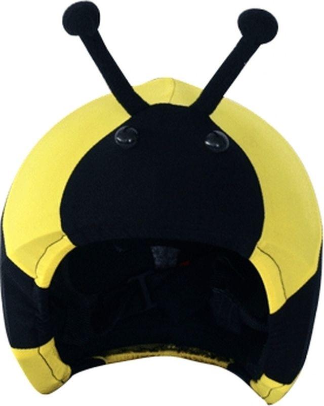 Нашлемник CoolCasc Wasp. Оса, цвет: желтый, черныйУТ-00007756Стильный нашлемник CoolCasc для спортивного шлема предназначен для занятий спортом (сноуборд, горные лыжи, велосипед) иразвлечений. Легко надевается, защищает шлем от царапин. Размер - универсальный. Нашлемник CoolCasc поможет подчеркнуть вашу индивидуальность и выделит вас среди окружающих.Состав: 83% нейлон, 17% спандекс.Что взять с собой на горнолыжную прогулку: рассказывают эксперты. Статья OZON Гид