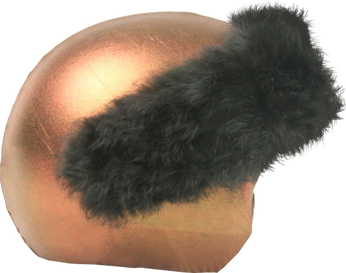 Нашлемник CoolCasc Bronze. Бронза, цвет: коричневый, бронзовыйУТ-00007763Стильный нашлемник CoolCasc для спортивного шлема предназначен для занятий спортом (сноуборд, горные лыжи, велосипед) и развлечений. Легко надевается, защищает шлем от царапин. Размер - универсальный.Нашлемник CoolCasc поможет подчеркнуть вашу индивидуальность и выделит вас среди окружающих.Состав: 83% нейлон, 17% спандекс.