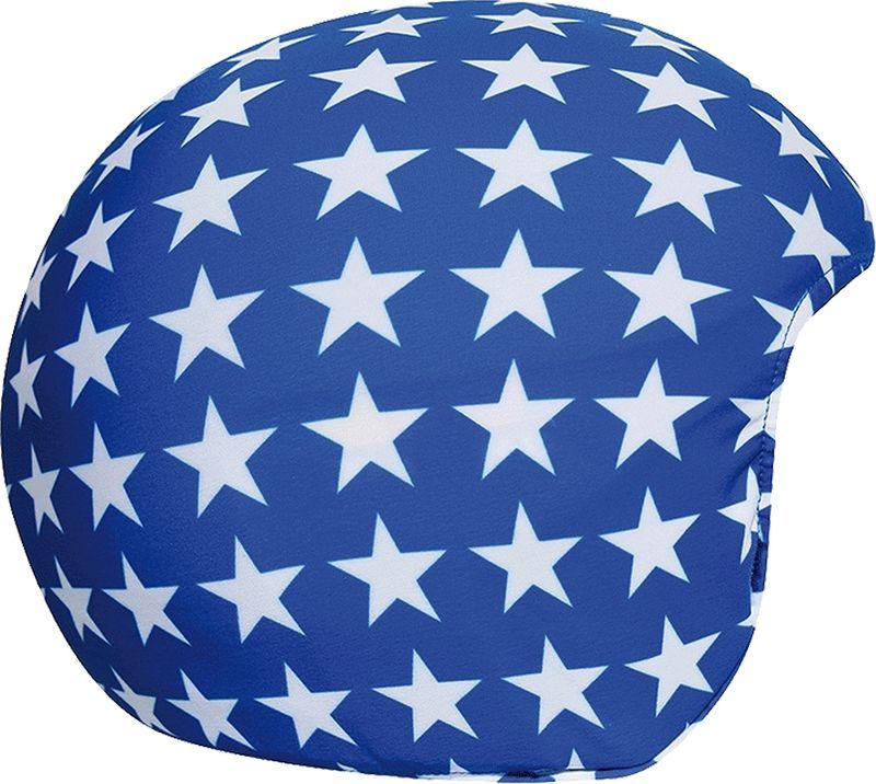 Нашлемник CoolCasc Blue Stars. Синие звезды, цвет: синий, белыйУТ-00007769Стильный нашлемник CoolCasc для спортивного шлема предназначен для занятий спортом (сноуборд, горные лыжи, велосипед) и развлечений. Легко надевается, защищает шлем от царапин. Размер - универсальный.Нашлемник CoolCasc поможет подчеркнуть вашу индивидуальность и выделит вас среди окружающих.Состав: 83% нейлон, 17% спандекс.