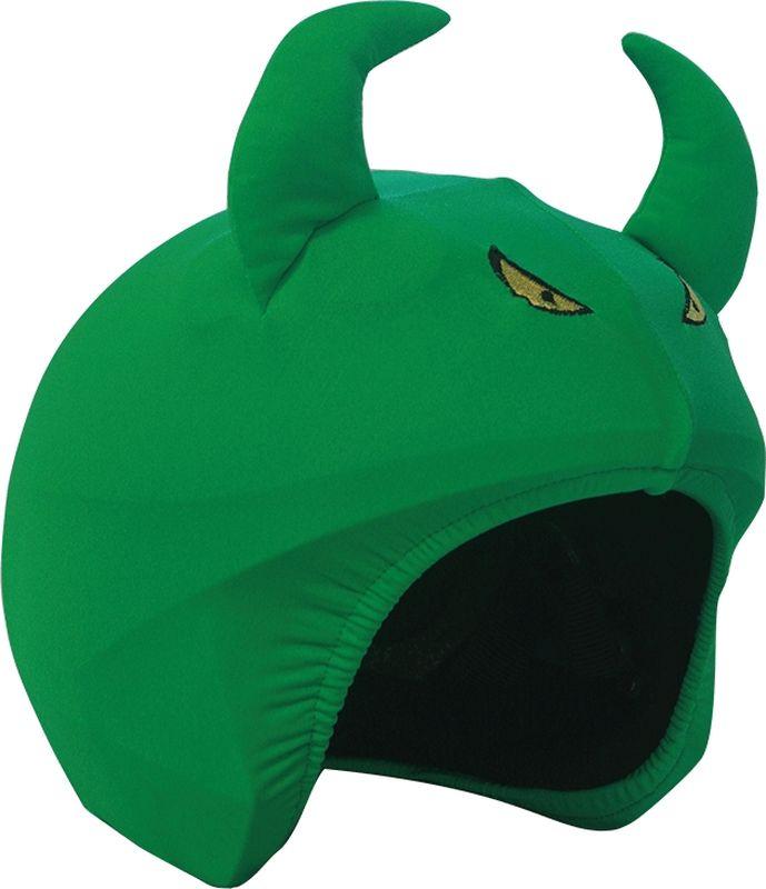 Нашлемник CoolCasc  Demon. Демон , цвет: зеленый - Аксессуары и защита