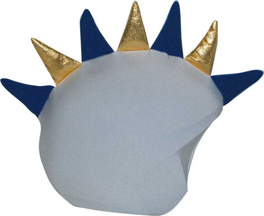 Нашлемник CoolCasc  Madrid Dragon. Дракон Мадрида , цвет: белый, синий - Аксессуары и защита