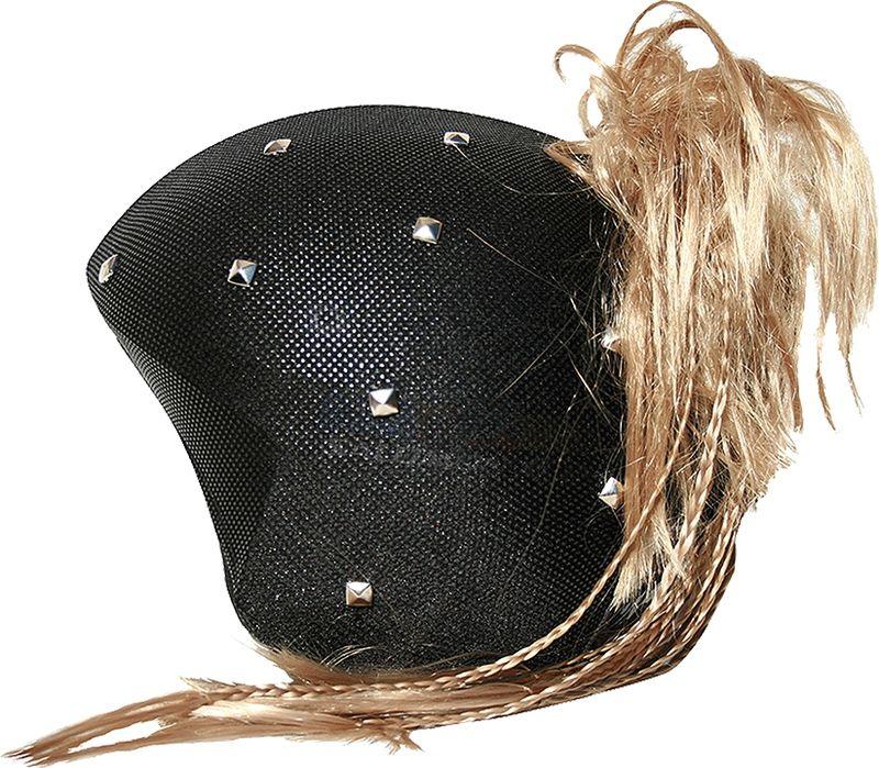 Нашлемник CoolCasc Punky Girl. Панк, цвет: черныйУТ-00007796Стильный нашлемник CoolCasc для спортивного шлема предназначен для занятий спортом (сноуборд, горные лыжи, велосипед) и развлечений. Легко надевается, защищает шлем от царапин. Размер - универсальный.Нашлемник CoolCasc поможет подчеркнуть вашу индивидуальность и выделит вас среди окружающих. Состав: 83% нейлон, 17% спандекс.
