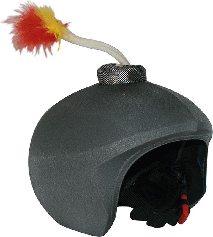 Нашлемник CoolCasc Bomba. БомбаУТ-00007797Стильный нашлемник CoolCasc для спортивного шлема предназначен для занятий спортом (сноуборд, горные лыжи, велосипед) и развлечений. Легко надевается, защищает шлем от царапин. Размер - универсальный.Нашлемник CoolCasc поможет подчеркнуть вашу индивидуальность и выделит вас среди окружающих.Состав: 83% нейлон, 17% спандекс.