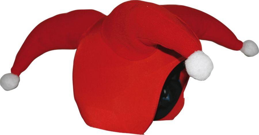 Нашлемник CoolCasc  Santa Claus. Санта Клаус , цвет: красный, белый - Аксессуары и защита