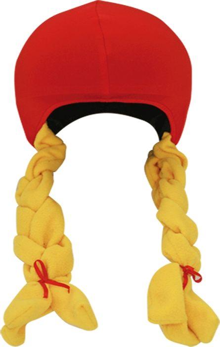 Нашлемник CoolCasc Little Red Hood. Красная шапочка, цевт: красный, желтый