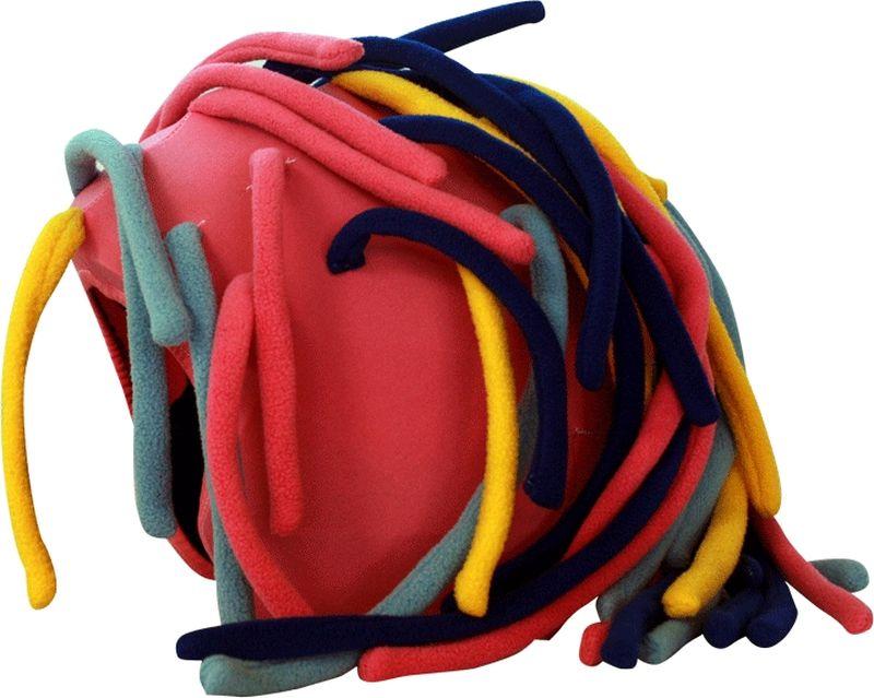 Нашлемник CoolCasc Girl Dreds ДредыУТ-00007803GERL DREDS - ДРЕДЫ ЛЕДИ арт. S072Нашлемник для спортивного шлема универсальный.Для занятий спортом (сноуборд, горные лыжи, велосипед), развлечений. Серия COOLCASC®Show-TimeФирма–изготовитель: «COOLCASC, S.L.», 28040, Испания, Мадрид, Conde de la Cimera, 6Страна – производитель: КИТАЙСостав: 83% нейлон, 17% спандексИнструкция по использованию – на упаковке
