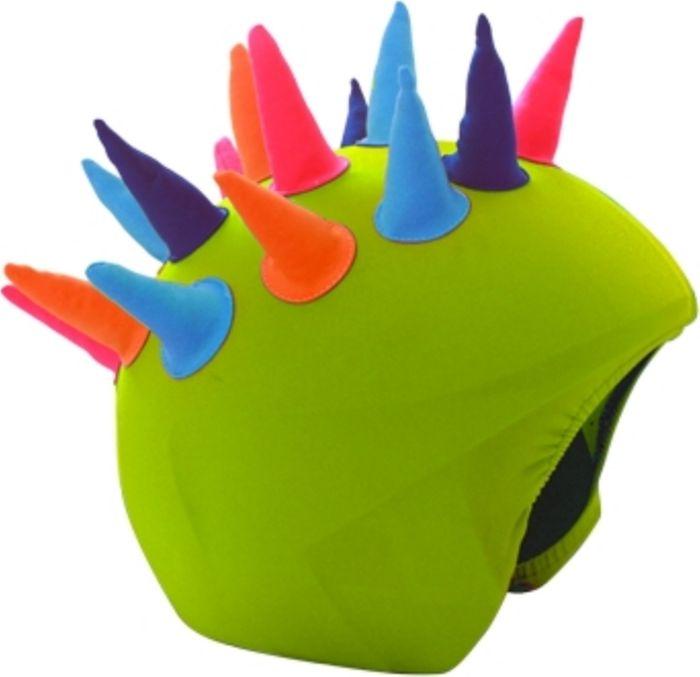 Нашлемник CoolCasc Neon Horns. Неоновые рожки, цвет:зеленый, голубой, оранжевыйУТ-00007808Стильный нашлемник CoolCasc для спортивного шлема предназначен для занятий спортом (сноуборд, горные лыжи, велосипед) и развлечений. Легко надевается, защищает шлем от царапин. Размер - универсальный.Нашлемник CoolCasc поможет подчеркнуть вашу индивидуальность и выделит вас среди окружающих. Состав: 83% нейлон, 17% спандекс.