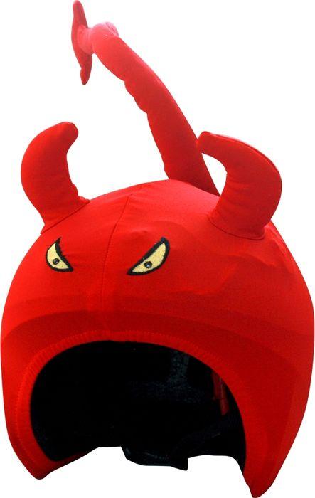 Нашлемник CoolCasc  Devil. Дьявол , со светодиодами, цвет: красный - Аксессуары и защита
