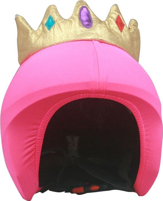 Нашлемник CoolCasc Queen. Королева, со светодиодами, цвет: розовыйУТ-00007815Стильный нашлемник CoolCasc для спортивного шлема предназначен для занятий спортом (сноуборд, горные лыжи, велосипед) и развлечений. Легко надевается, защищает шлем от царапин. Размер - универсальный.Нашлемник CoolCasc поможет подчеркнуть вашу индивидуальность и выделит вас среди окружающих. Состав: 83% нейлон, 17% спандекс.