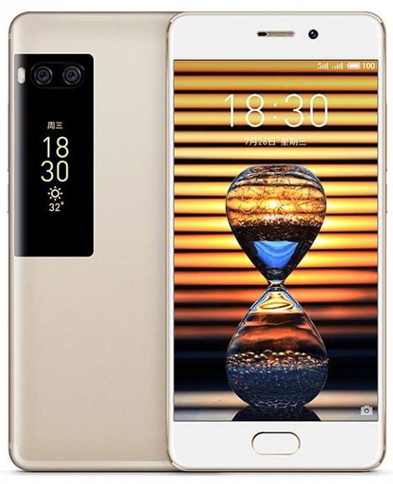 Meizu Pro 7 64GB, GoldMZU-M792H-64-GDИнновационная технология сенсорного ввода, прекрасное управление одной рукой, надежные компоненты и высокая скорость передачи данных - залог успеха нового, легкого и, вместе с тем, мощного Meizu Pro 7.Потрясающие снимки.Уникальное сочетание двойной основной камеры и дополнительного дисплея открывает перед пользователями неповторимые возможности фотосъемки.Отлаженные механизмы редактирования селфи добавляют совершенства иразнообразия в ваши кадры. Глядя на себя на дополнительном дисплее,вы сможете поймать момент естественной красоты.Уведомления на втором экране.Сверяясь с сообщениями на втором экране, вы значительно упростите себе жизнь.Сосредоточьтесь на работе и игнорируйте нежелательные напоминания, но при этом не пропускайтеважные сообщения в свободное время.Динамичный второй экран.На втором экране отражаются самые важные уведомления, без лишней информации,что значительно облегчает контакты с другими людьми. Яркие динамичные изображения делают вас ближе к собеседнику.С двумя экранами ваш телефон приобретает неповторимую индивидуальность.Новый подход к управлению.Чем меньше - тем лучше. Большое разнообразие функций не всегда хорошо. Меню плеера на дополнительном экране, схожее с меню компактных мр3 плееров в прошедшие годы, поможет погрузиться в музыку, которая дарит вам радость.Оригинальная двойная 12-мегапиксельная камера позволяет делать самые сложные кадры максимально качественно. Доведенные до совершенства алгоритмы и абсолютно новый чипсет обработки кадров, внедренные в Pro 7, выводят съемку на высочайший уровень.16-мегапиксельная фронтальная камера передает все оттенки ваших эмоций. При съемке в условиях недостаточного освещения четыре алгоритма обработки снимка активируются одновременно, в два раза повышая светочувствительность камеры и детализацию важных для вас кадров.Meizu не знает пределов совершенствования в мастерстве. Изумительный матовый корпус был создан с использованием технологии штамповки на микронном уровне