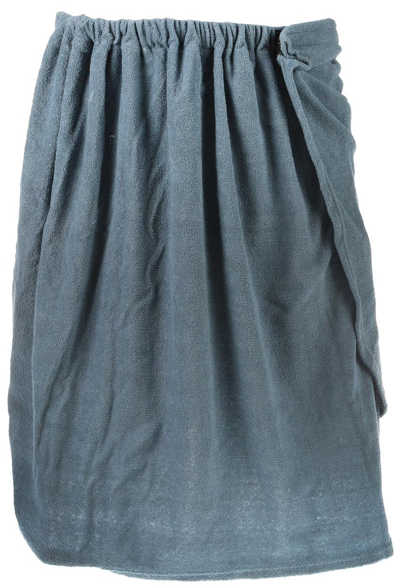 Килт для бани и сауны Главбаня, мужской, цвет: серо-синий, длина 65 смБ252_серыйМужской килт для бани и сауны Главбаня выполнен из сочетания натурального хлопка иполиэстера. Килт хорошо поглощает влагу и дарит необыкновенную мягкость и комфорт, ему нестрашна многократная стирка - он не теряет своей яркости. Банный килт - этомногофункциональная накидка специального покроя с резинкой и застежкой. В парилке можнолежать на нем, после душа вытираться. Такой килт идеально подойдет для любителя бани или сауны.Длина килта: 65 см.Максимальная ширина килта: 150 см.