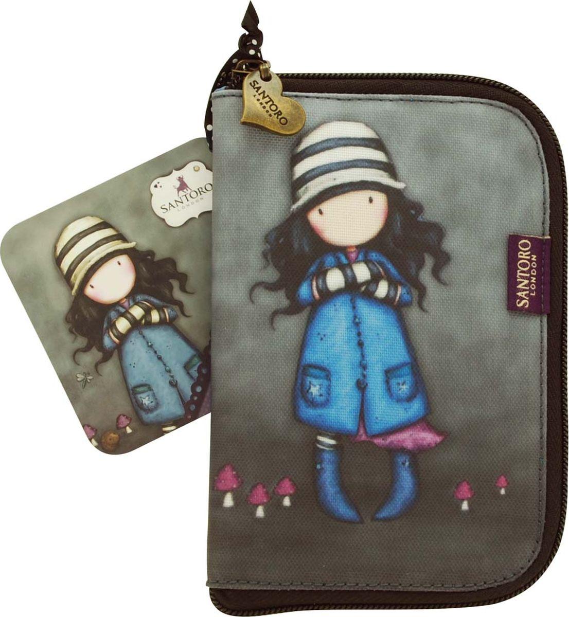 Сумка для девочки Santoro Toadstools, цвет: синий. 0012417