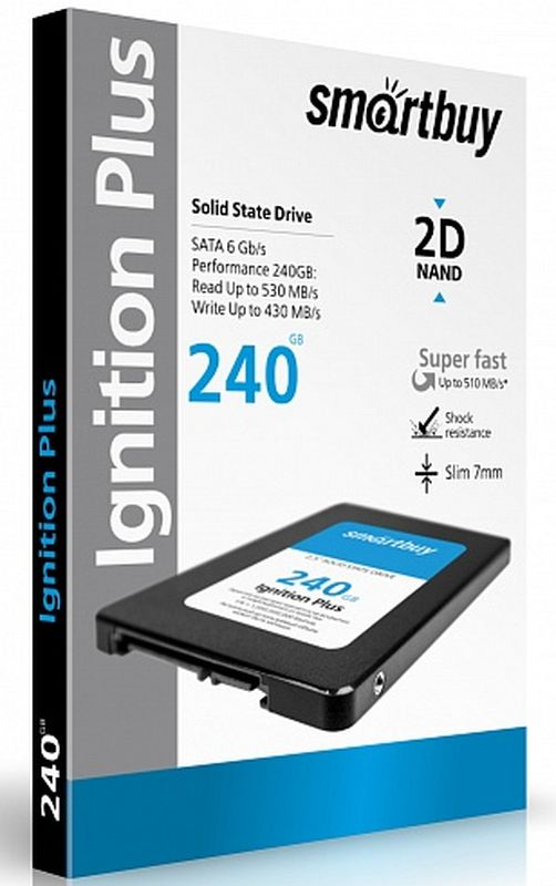 Smartbuy Ignition 240GB SSD-накопитель (SB240GB-IGNP-25SAT3)