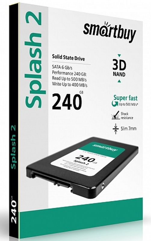 Smartbuy Splash 2 240GB SSD-накопитель (SB240GB-SPLH2-25SAT3)