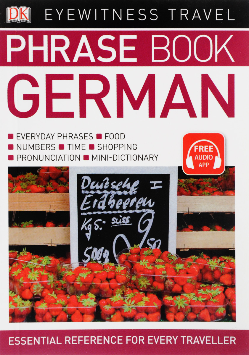 Eyewitness Travel Phrase Book German: Essential Reference for Every Traveller russian phrase book