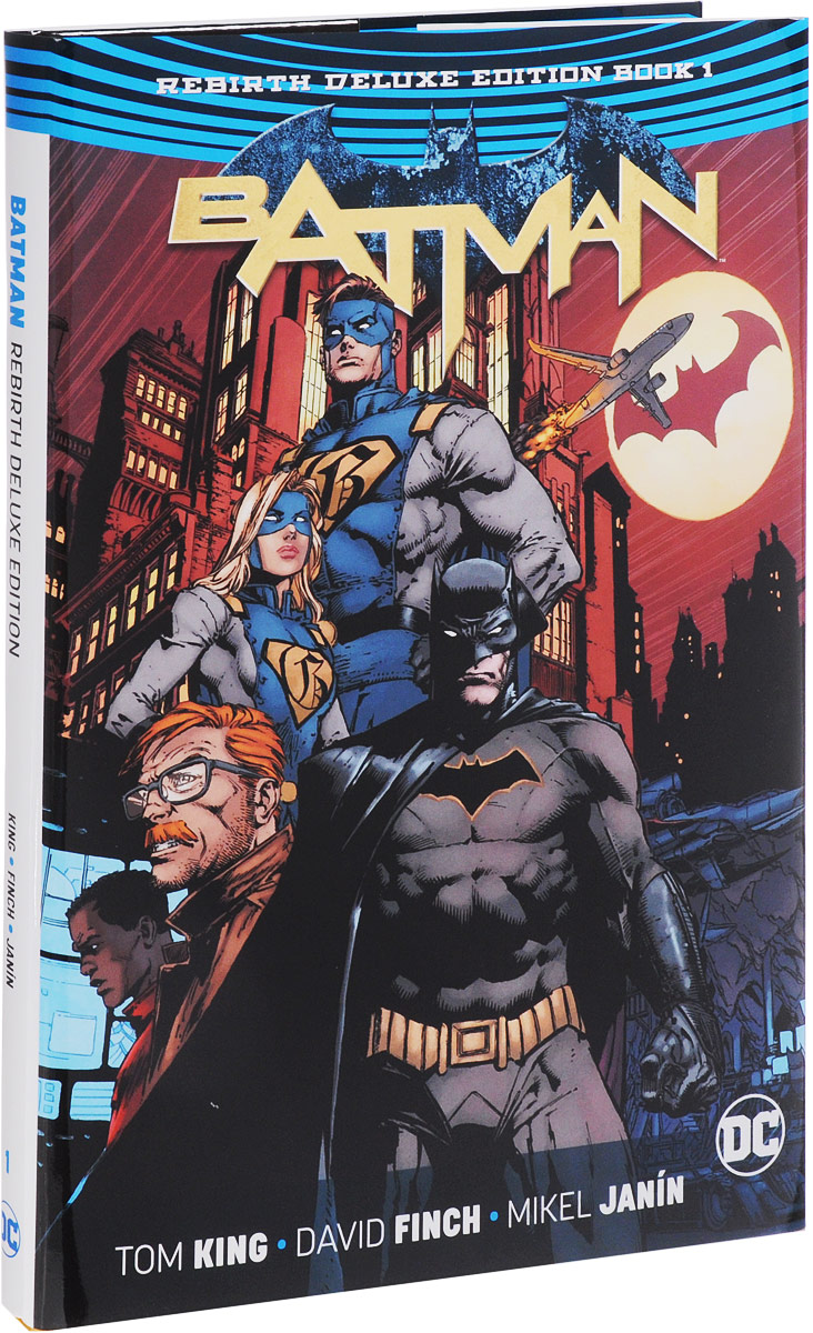 Batman: The Rebirth Deluxe Edition: Book 1 the little book of batman