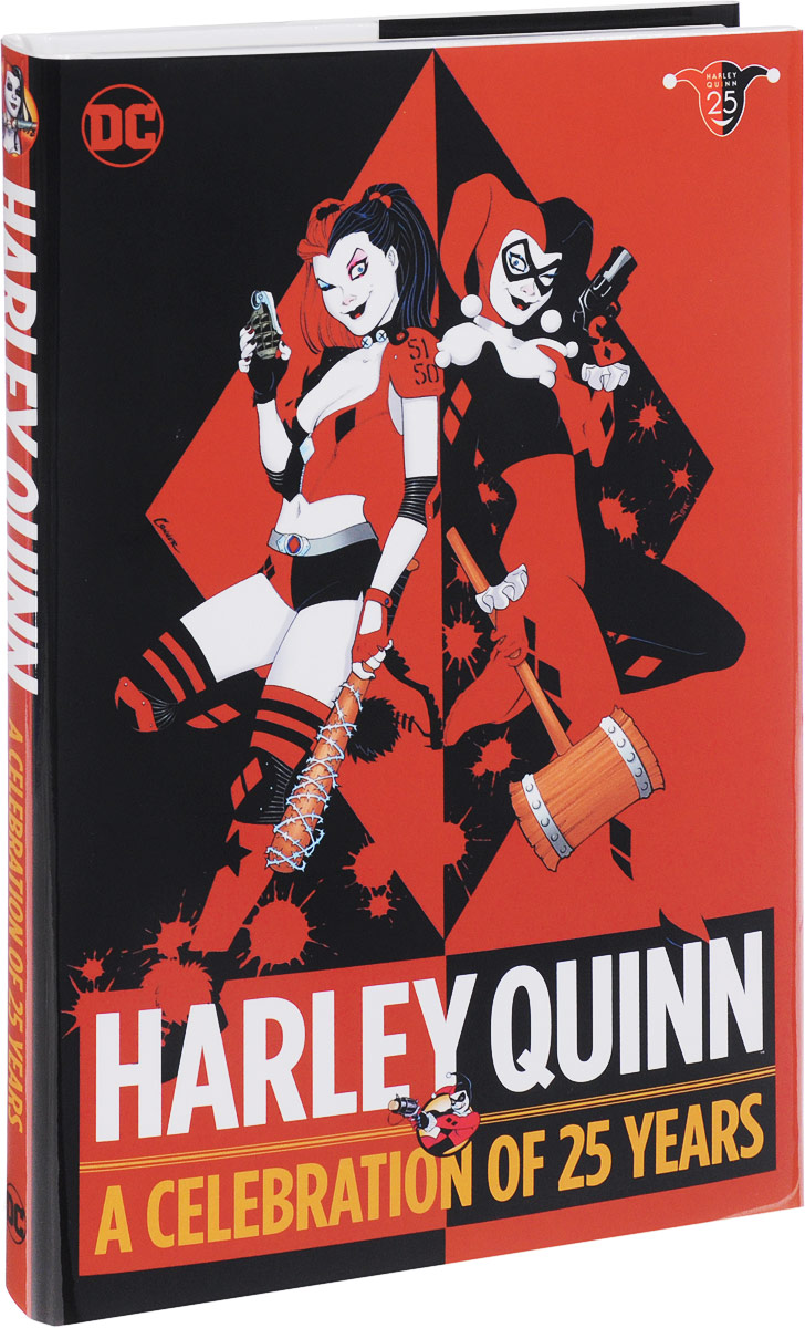 Harley Quinn: A Celebration of 25 Years harley spectrum into the west 34 strings and above spot