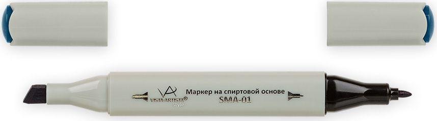 Vista-Artista Маркер Style цвет темно-морской волны G35233834167002Маркер Style с двумя наконечниками позволяет работать различными живописными техниками такими, как скетчинг, создание иллюстраций, прорисовка дизайнов и др. -толстый, скошенный наконечник используют для закрашивания больших поверхностей и прорисовки широких линий, толщина линии 1-7 мм;-тонкий наконечник служит для тонких линий, прорисовки деталей и создания рисунка, толщина линии 1 мм. Цвета можно накладывать друг на друга и смешивать, получая при этом новые оттенки.