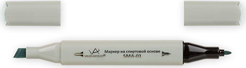 Vista-Artista Маркер Style цвет светлый светло-зелено-серый S53033860261932Маркер Style с двумя наконечниками позволяет работать различными живописными техниками такими, как скетчинг, создание иллюстраций, прорисовка дизайнов и др.-толстый, скошенный наконечник используют для закрашивания больших поверхностей и прорисовки широких линий, толщина линии 1-7 мм; -тонкий наконечник служит для тонких линий, прорисовки деталей и создания рисунка, толщина линии 1 мм.Цвета можно накладывать друг на друга и смешивать, получая при этом новые оттенки.