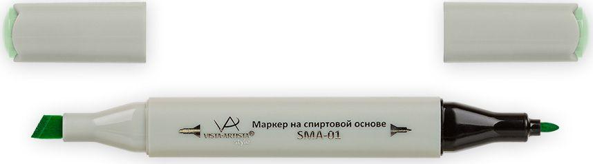 Vista-Artista Маркер Style цвет светло-травяной Z41333860262062Маркер Style с двумя наконечниками позволяет работать различными живописными техниками такими, как скетчинг, создание иллюстраций, прорисовка дизайнов и др. -толстый, скошенный наконечник используют для закрашивания больших поверхностей и прорисовки широких линий, толщина линии 1-7 мм;-тонкий наконечник служит для тонких линий, прорисовки деталей и создания рисунка, толщина линии 1 мм. Цвета можно накладывать друг на друга и смешивать, получая при этом новые оттенки.