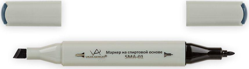 Vista-Artista Маркер Style цвет S523 серый холодный II 833860262152Маркеры ТМ VISTA-ARTISTA Style позволяют работать различными живописными техниками такими, как скетчинг, создание иллюстраций, прорисовка дизайнов и др. Палитра маркеров включает 168 цветов - от пастельных до самых ярких (в том числе маркер-блендер). Маркеры обладают следующими параметрами:- На спиртовой основе.- Водостойкий и не смывается водой.- Два наконечника:* толстый, скошенный наконечник используют для закрашивания больших поверхностей и прорисовки широких линий, толщина линии 1-7 мм; * тонкий наконечник служит для тонких линий, прорисовки деталей и создания рисунка, толщина линии 1 мм.- Краска полупрозрачная, позволяет делать переходы из одного цвета в другой. После нанесения на бумагу высыхает почти сразу.- Цвета можно накладывать друг на друга и смешивать, получая при этом новые оттенки;- Не высыхает при плотно закрытых колпачках.- Маркер-блендер предназначен для создания визуальных эффектов - вымывания фона, смешивания цветов, добавления акварельных эффектов, изменения насыщенности цвета в рисунке.