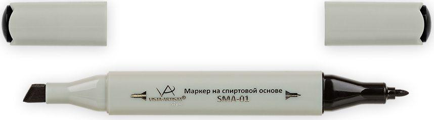 Vista-Artista Маркер Style цвет B100 черный33860262702Маркеры Vista-Artista Style с двумя наконечниками позволяют работать различными живописными техниками такими, как скетчинг, создание иллюстраций, прорисовка дизайнов и другие. Палитра маркеров включает 168 цветов - от пастельных до самых ярких (в том числе маркер-блендер).Маркеры обладают следующими параметрами:- На спиртовой основе.- Водостойкий и не смывается водой.- Два наконечника: толстый, скошенный наконечник используют для закрашивания больших поверхностей и прорисовки широких линий, толщина линии 1-7 мм; тонкий наконечник служит для тонких линий, прорисовки деталей и создания рисунка, толщина линии 1 мм.- Краска полупрозрачная, позволяет делать переходы из одного цвета в другой.- После нанесения на бумагу высыхает почти сразу.- Цвета можно накладывать друг на друга и смешивать, получая при этом новые оттенки.- Не высыхает при плотно закрытых колпачках.- Маркер-блендер предназначен для создания визуальных эффектов - вымывания фона, смешивания цветов, добавления акварельных эффектов, изменения насыщенности цвета в рисунке.