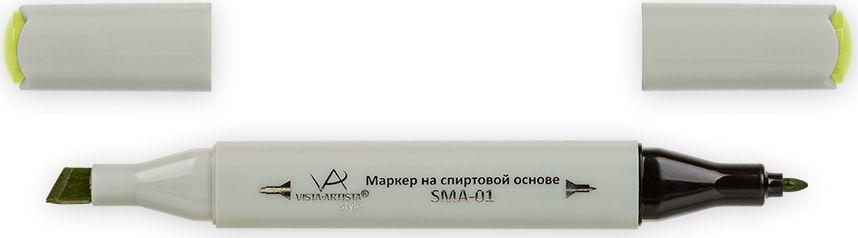 Vista-Artista Маркер Style цвет Z465 светло-хаки33860262762Маркеры Vista-Artista Style с двумя наконечниками позволяют работать различными живописными техниками такими, как скетчинг, создание иллюстраций, прорисовка дизайнов и другие. Палитра маркеров включает 168 цветов - от пастельных до самых ярких (в том числе маркер-блендер).Маркеры обладают следующими параметрами:- На спиртовой основе.- Водостойкий и не смывается водой.- Два наконечника: толстый, скошенный наконечник используют для закрашивания больших поверхностей и прорисовки широких линий, толщина линии 1-7 мм; тонкий наконечник служит для тонких линий, прорисовки деталей и создания рисунка, толщина линии 1 мм.- Краска полупрозрачная, позволяет делать переходы из одного цвета в другой.- После нанесения на бумагу высыхает почти сразу.- Цвета можно накладывать друг на друга и смешивать, получая при этом новые оттенки.- Не высыхает при плотно закрытых колпачках.- Маркер-блендер предназначен для создания визуальных эффектов - вымывания фона, смешивания цветов, добавления акварельных эффектов, изменения насыщенности цвета в рисунке.