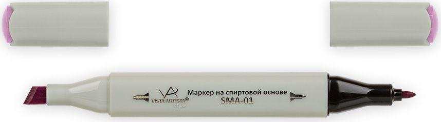 Vista-Artista Маркер Style цвет светлый лилово-коричневый K28433860262822Маркер Style с двумя наконечниками позволяет работать различными живописными техниками такими, как скетчинг, создание иллюстраций, прорисовка дизайнов и др. -толстый, скошенный наконечник используют для закрашивания больших поверхностей и прорисовки широких линий, толщина линии 1-7 мм;-тонкий наконечник служит для тонких линий, прорисовки деталей и создания рисунка, толщина линии 1 мм. Цвета можно накладывать друг на друга и смешивать, получая при этом новые оттенки.