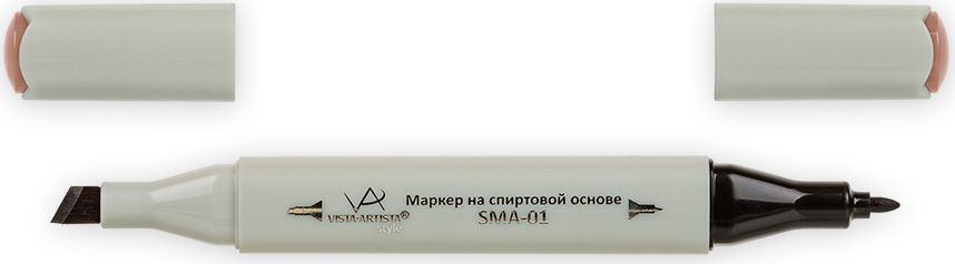 Vista-Artista Маркер Style цвет махагоновый J20833860288652Маркер Style с двумя наконечниками позволяет работать различными живописными техниками такими, как скетчинг, создание иллюстраций, прорисовка дизайнов и др. -толстый, скошенный наконечник используют для закрашивания больших поверхностей и прорисовки широких линий, толщина линии 1-7 мм;-тонкий наконечник служит для тонких линий, прорисовки деталей и создания рисунка, толщина линии 1 мм. Цвета можно накладывать друг на друга и смешивать, получая при этом новые оттенки.