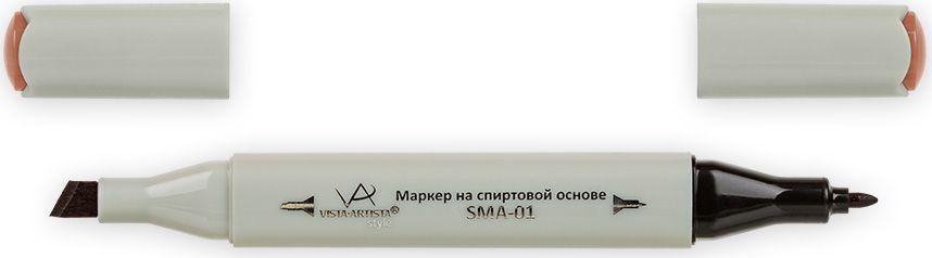 Vista-Artista Маркер Style цвет красно-коричневый J20933860315752Маркер Style с двумя наконечниками позволяет работать различными живописными техниками такими, как скетчинг, создание иллюстраций, прорисовка дизайнов и др. -толстый, скошенный наконечник используют для закрашивания больших поверхностей и прорисовки широких линий, толщина линии 1-7 мм;-тонкий наконечник служит для тонких линий, прорисовки деталей и создания рисунка, толщина линии 1 мм. Цвета можно накладывать друг на друга и смешивать, получая при этом новые оттенки.