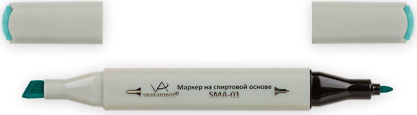 Vista-Artista Маркер Style цвет светлая светло-зеленая бирюза G37533860344322Маркер Style с двумя наконечниками позволяет работать различными живописными техниками такими, как скетчинг, создание иллюстраций,прорисовка дизайнов и др.-толстый, скошенный наконечник используют для закрашивания больших поверхностей и прорисовки широких линий, толщина линии 1-7 мм; -тонкий наконечник служит для тонких линий, прорисовки деталей и создания рисунка, толщина линии 1 мм.Цвета можно накладывать друг на друга и смешивать, получая при этом новые оттенки.