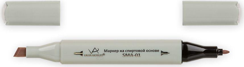 Vista-Artista Маркер Style цвет S486 серый теплый 133860345572Маркеры ТМ VISTA-ARTISTA Style позволяют работать различными живописными техниками такими, как скетчинг, создание иллюстраций, прорисовка дизайнов и др. Палитра маркеров включает 168 цветов - от пастельных до самых ярких (в том числе маркер-блендер). Маркеры обладают следующими параметрами:- На спиртовой основе.- Водостойкий и не смывается водой.- Два наконечника:* толстый, скошенный наконечник используют для закрашивания больших поверхностей и прорисовки широких линий, толщина линии 1-7 мм; * тонкий наконечник служит для тонких линий, прорисовки деталей и создания рисунка, толщина линии 1 мм.- Краска полупрозрачная, позволяет делать переходы из одного цвета в другой. После нанесения на бумагу высыхает почти сразу.- Цвета можно накладывать друг на друга и смешивать, получая при этом новые оттенки;- Не высыхает при плотно закрытых колпачках.- Маркер-блендер предназначен для создания визуальных эффектов - вымывания фона, смешивания цветов, добавления акварельных эффектов, изменения насыщенности цвета в рисунке.