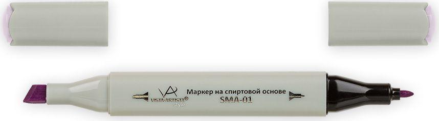 Vista-Artista Маркер Style цвет светло-сиреневый K28933860356002Маркер Style с двумя наконечниками позволяет работать различными живописными техниками такими, как скетчинг, создание иллюстраций, прорисовка дизайнов и др.-толстый, скошенный наконечник используют для закрашивания больших поверхностей и прорисовки широких линий, толщина линии 1-7 мм; -тонкий наконечник служит для тонких линий, прорисовки деталей и создания рисунка, толщина линии 1 мм.Цвета можно накладывать друг на друга и смешивать, получая при этом новые оттенки.