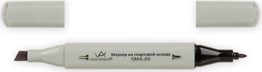 Vista-Artista Маркер Style цвет серый теплый 2 S48733860356022Маркер Style с двумя наконечниками позволяет работать различными живописными техниками такими, как скетчинг, создание иллюстраций, прорисовка дизайнов и др. -толстый, скошенный наконечник используют для закрашивания больших поверхностей и прорисовки широких линий, толщина линии 1-7 мм;-тонкий наконечник служит для тонких линий, прорисовки деталей и создания рисунка, толщина линии 1 мм. Цвета можно накладывать друг на друга и смешивать, получая при этом новые оттенки.